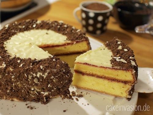 Weisse Schokoladentorte Nach Sacher Art Cake Invasion