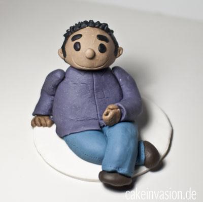 Meine erste Figur aus Modellierfondant