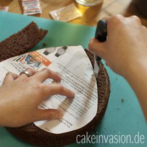 Anleitung Gebrochenes Blutendes Herz Zum Valentinstag Cake