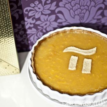 Es ist π-Tag! Gefeiert mit einem Orangen-Pie (vegan, laktosefrei)