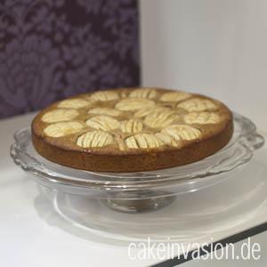 Apfelkuchen mit Haferflocken (vegan, laktosefrei)