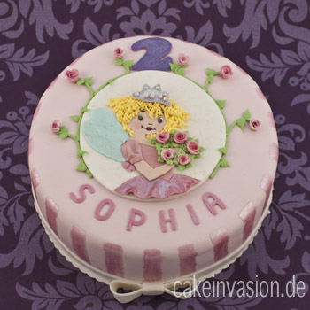 Prinzessin kuchen backen
