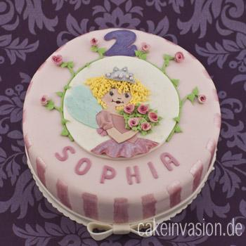 Prinzessin-Lillifee-Torte