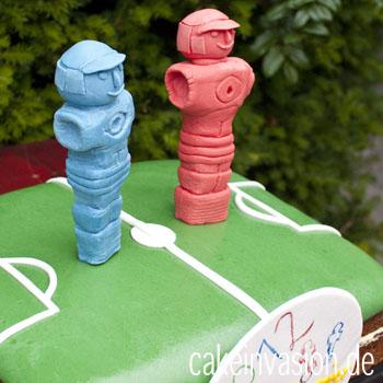 Kickertorte (Tischfußball-Torte)