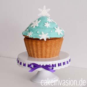 Verzierter Riesencupcake