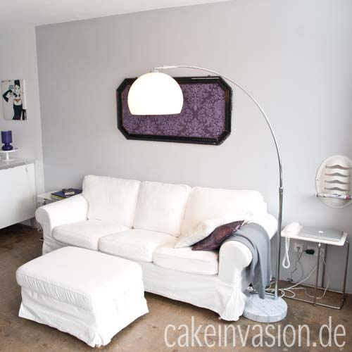 off topic meine neue bogenleuchte cake invasion. Black Bedroom Furniture Sets. Home Design Ideas