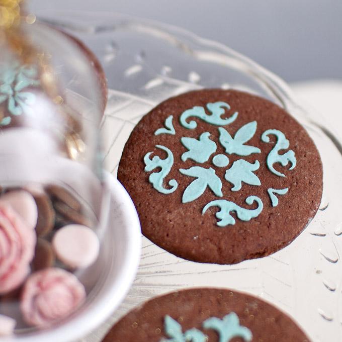 Superschokoladige Kekse vegan zum Ausstechen