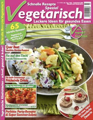 Schnelle Rezepte vegetarisch 3-2013