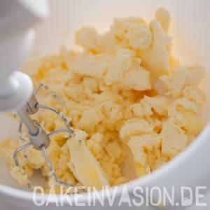 Margarine schaumig schlagen