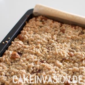 Nektarinen-Streusel-Kuchen