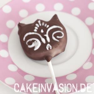 Katzen-Cakepop