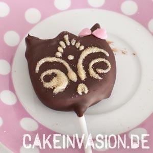 Katzen-Masken-Cakepop