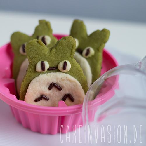 Totoro Matcha Cookies