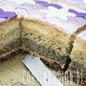 Misslungener Ombre-Kuchen