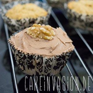 Kaffee-Walnuss-Cupcakes