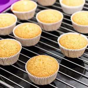 fluffige muffins mit öl