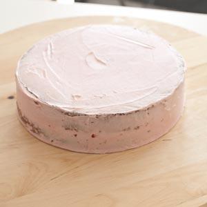 vorbereiteter Kuchen