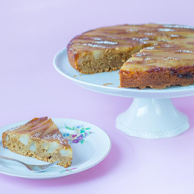 Birnen-Rum-Kuchen