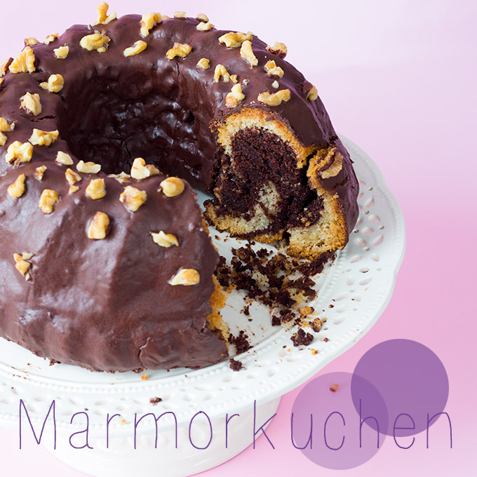 Marmorkuchen Vegan Laktosefrei Cake Invasion