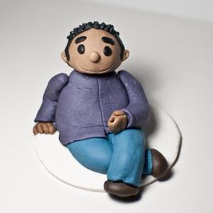 Figur aus Modellierfondant