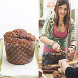 Zimt-Apfel-Rosinen-Muffins Lisa Fabry