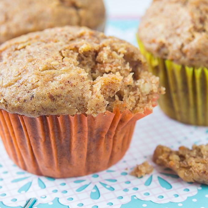 Vegane Karotten-Muffins