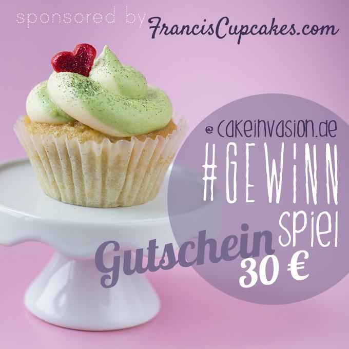 Matcha Zitronen Cupcake Gewinnspiel