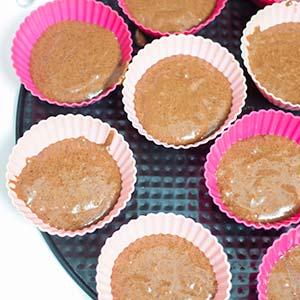 vegane schoko muffins mit streuseln laktosefrei cake invasion. Black Bedroom Furniture Sets. Home Design Ideas