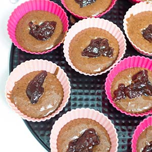 vegane schoko muffins mit streuseln laktosefrei cake. Black Bedroom Furniture Sets. Home Design Ideas