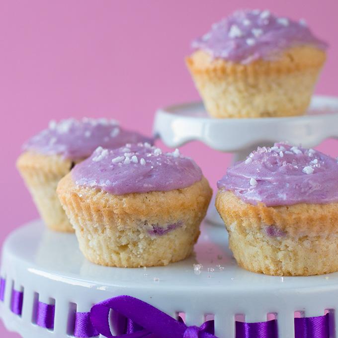 Taro Cupcakes