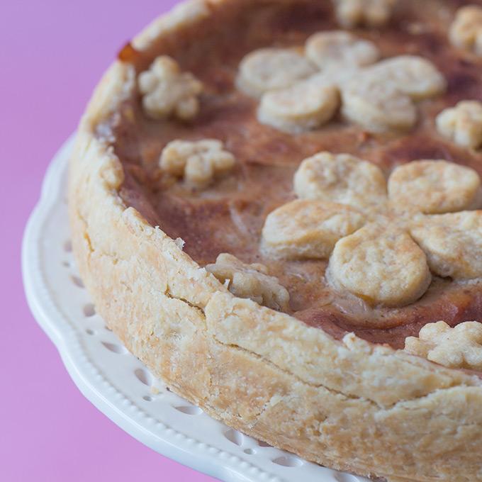 Oil Pie Crust vegan